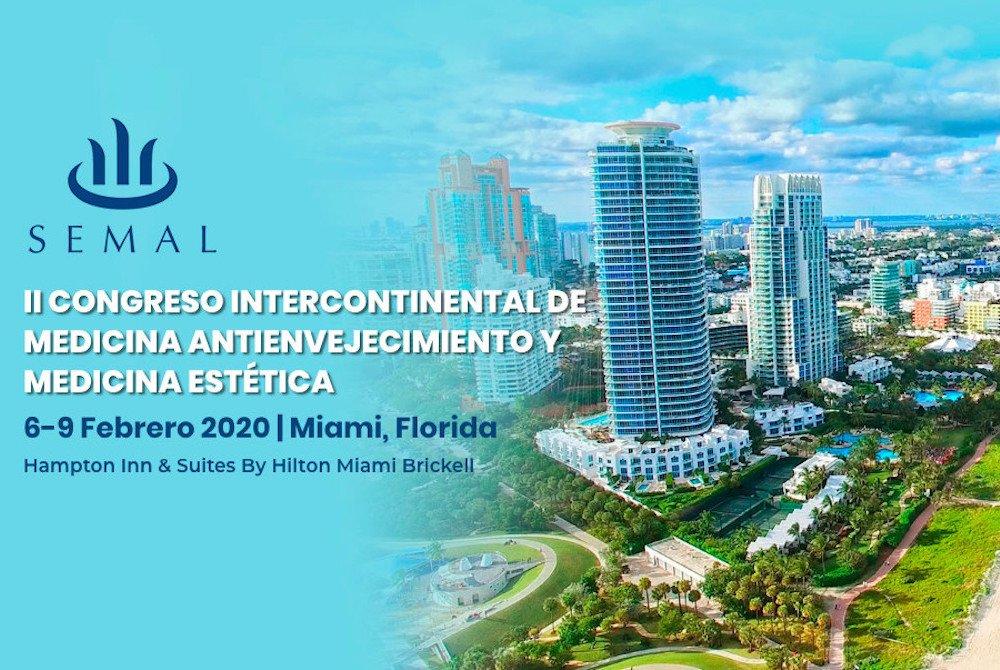 II congreso Intercontinental de Medicina Antienvejecimiento en Miami featured image